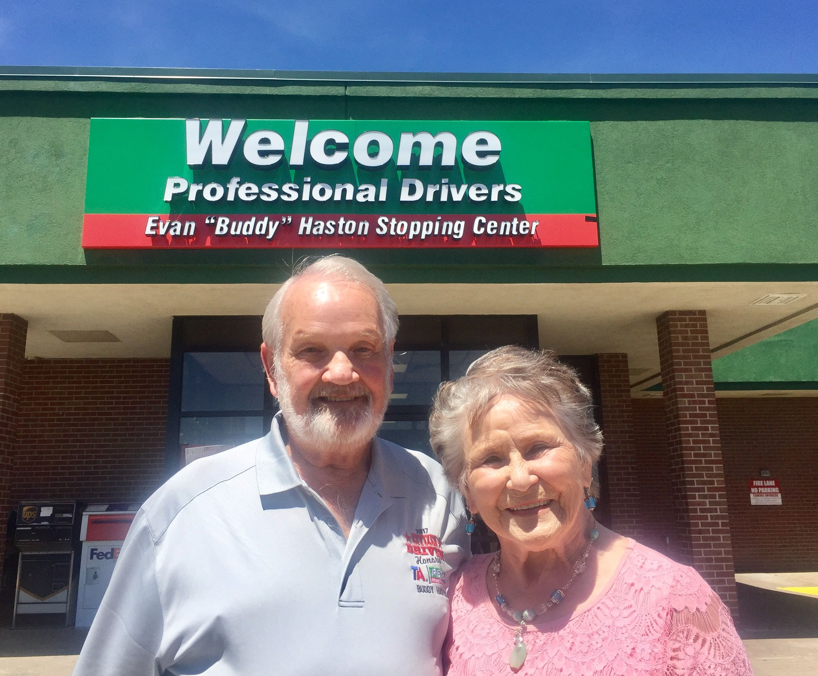 Mr & Mrs Buddy Haston
