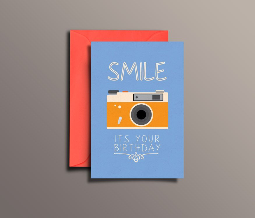 A Cute Birthday Greeting Card For Your Photographer Friend