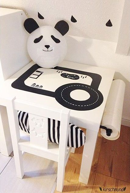 Mommo design hack and play lack table track kids furniture and details giochi per bambini - Stickers bambini ikea ...