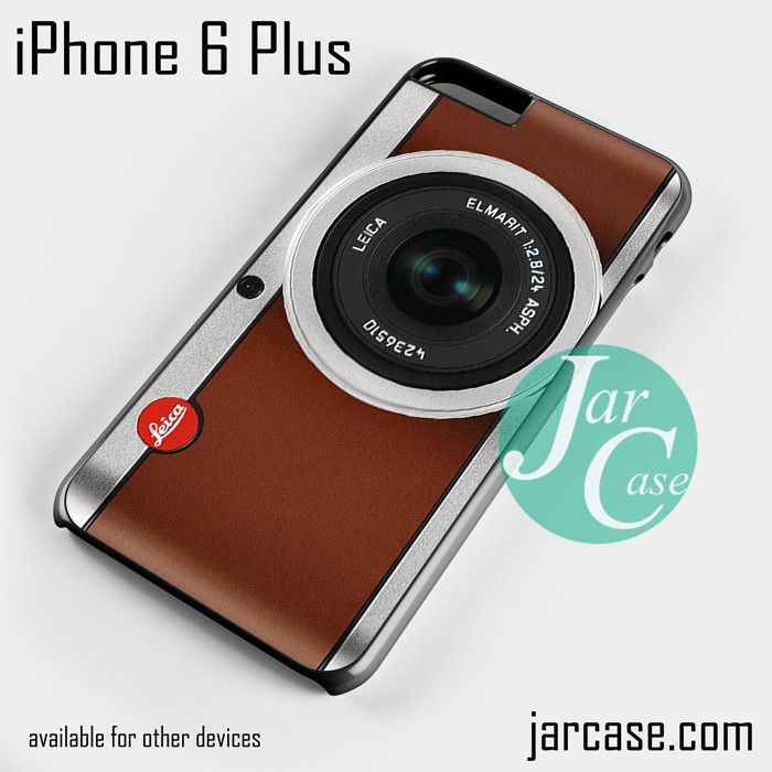 tanned leather leica camera Phone case for iPhone 6 Plus and other iPhone devices