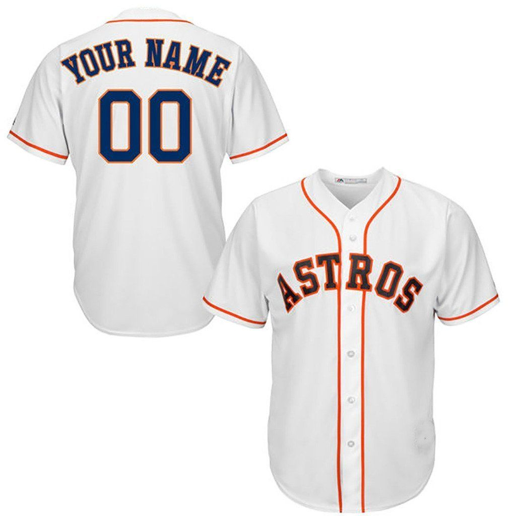sale retailer 88b20 b9599 Amazon.com: Generic Houston Astros Customized Alternate ...