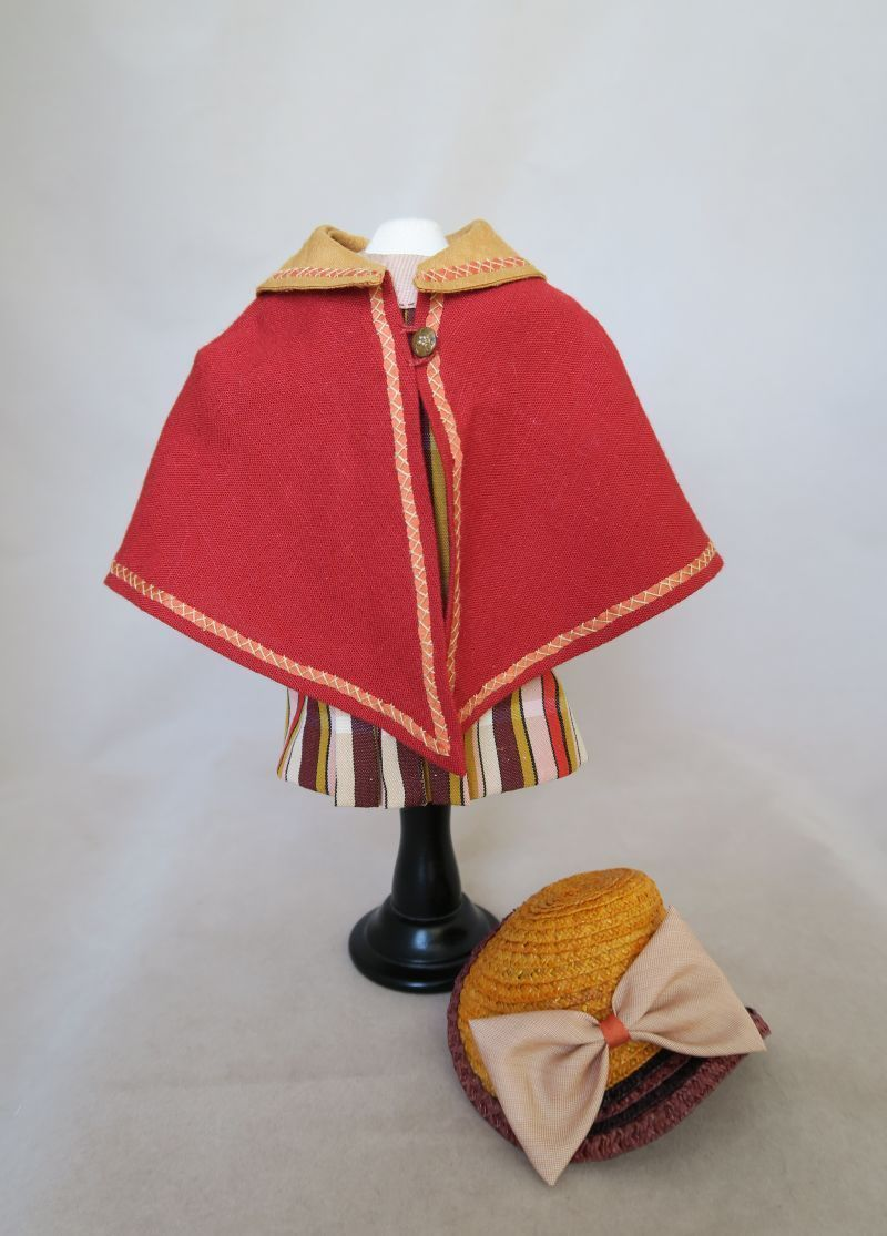 Bleuette LSDS by Bluebird Textiles Travel Cape Ensemble | eBay