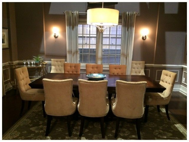 On Set With Abc S Black Ish Abctvevent A Sparkle Of Genius Beautiful Dining Rooms Prop House Tv Show House