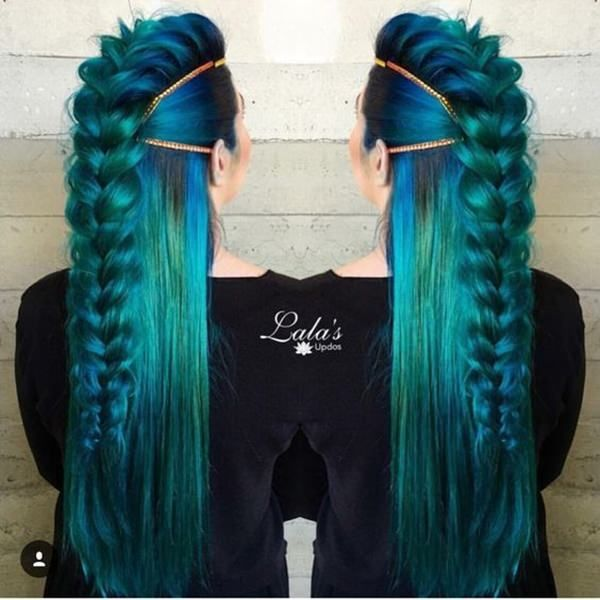 Photo of 71 ideas for green hair dye that you will love – hairstyles – trend hairstyles – hair model