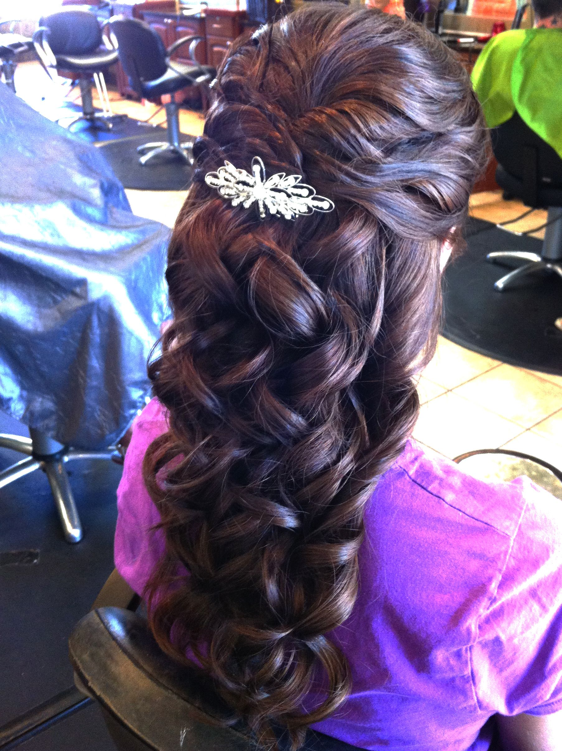 Hair and makeup by steph half updo updo and hair style