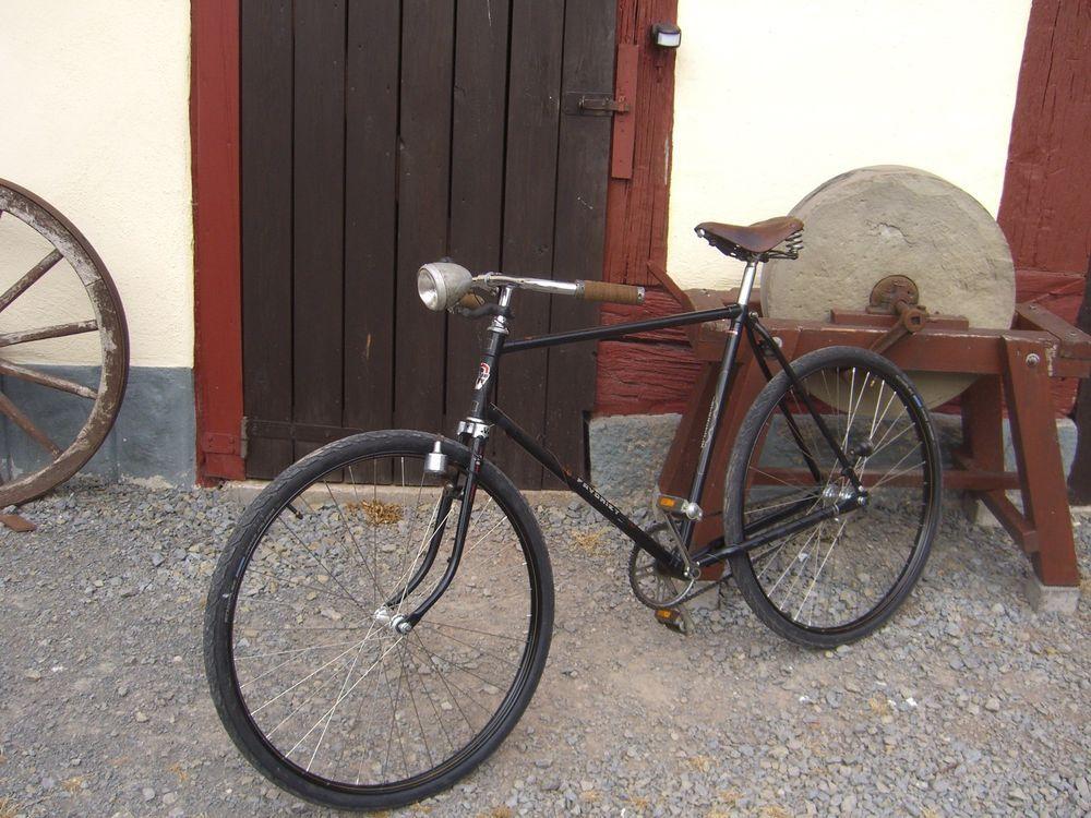 Halbrenner Oldtimer Retro Fahrrad 28 Zoll Retro Fahrrad Fahrrad
