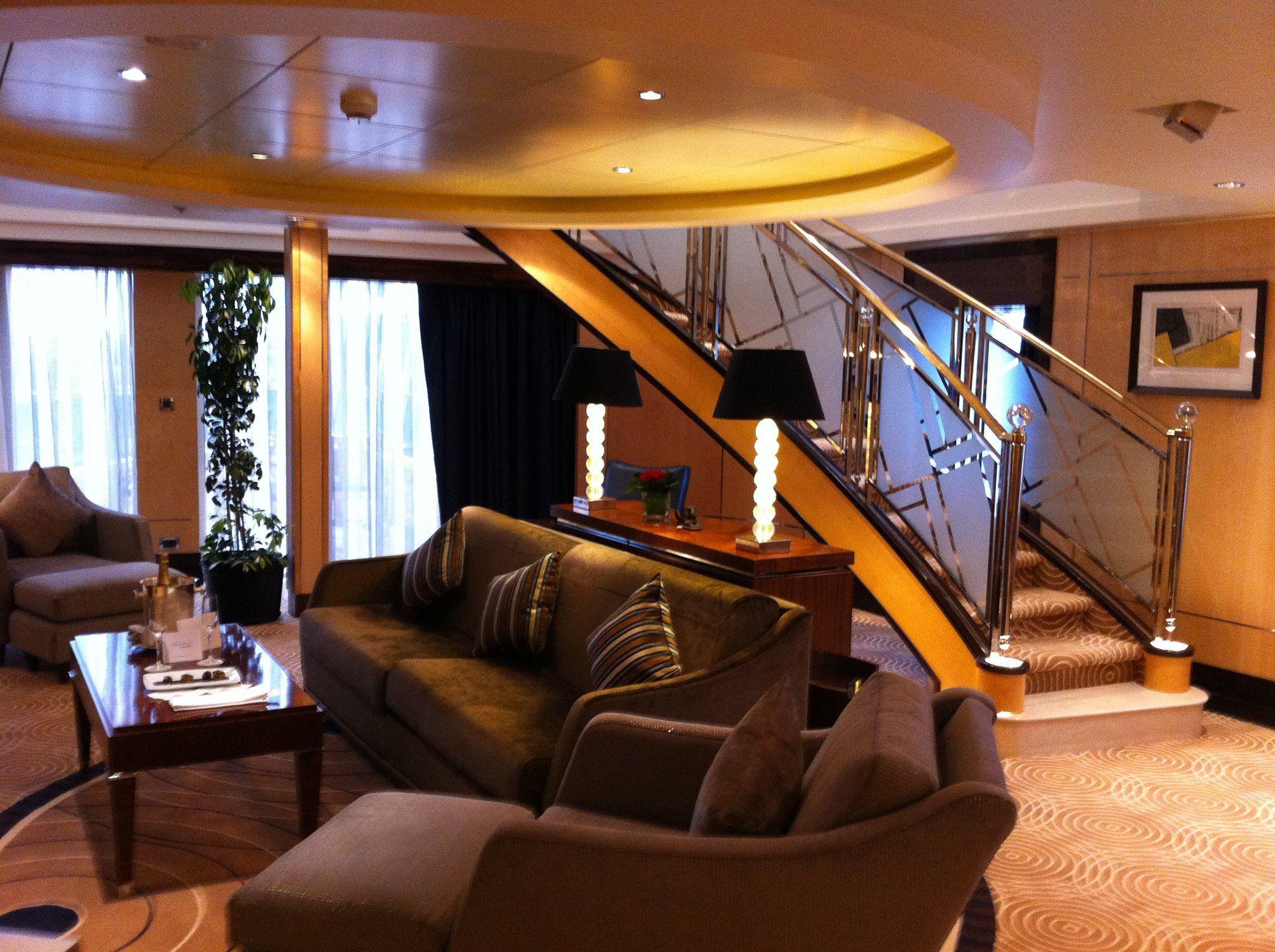 Queen Mary 2 - Q1 Balmoral Duplex | Cunard cruise, Cunard ships, Queen mary