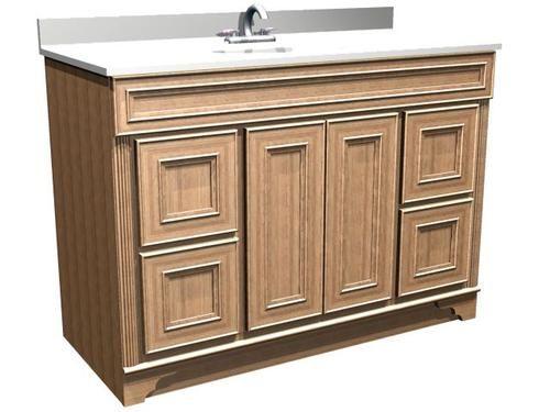 Briarwood Highland Vanity Sink 48w X 21d X 34 5h Drawers