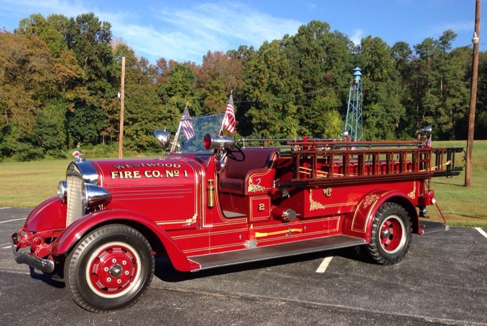 Westwood, PA Fire Company Engine 442 1937 American