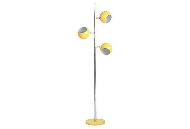Mid Century Eyeball Floor Lamp | For Sale at JanneysCollection.com ...