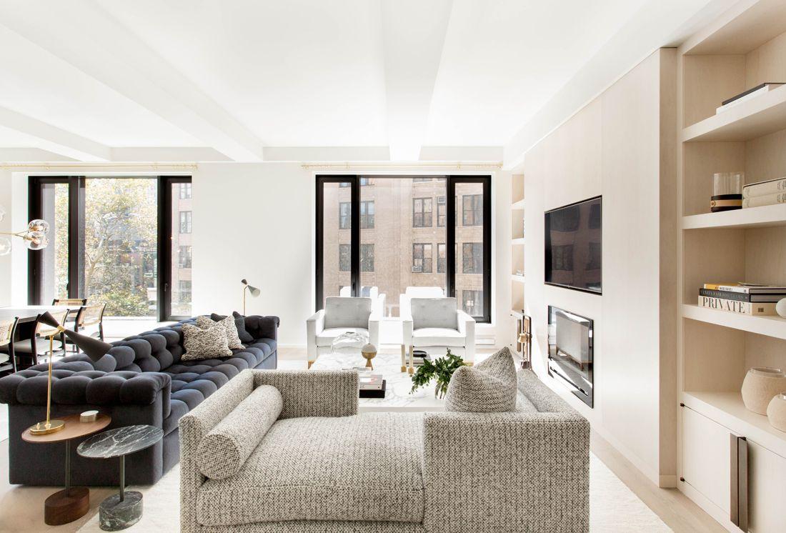 A Warm Modern Tribeca Apartment By Tamara Magel Photo By Rikki