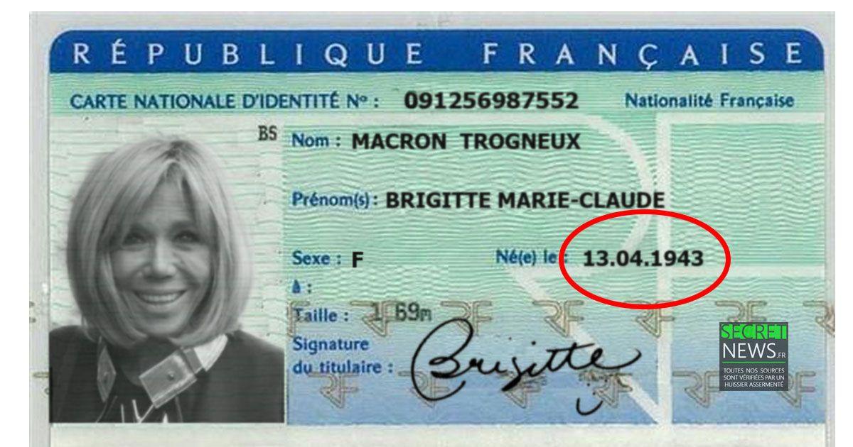 Brigitte Macron atelle menti sur son âge ? Wikileaks