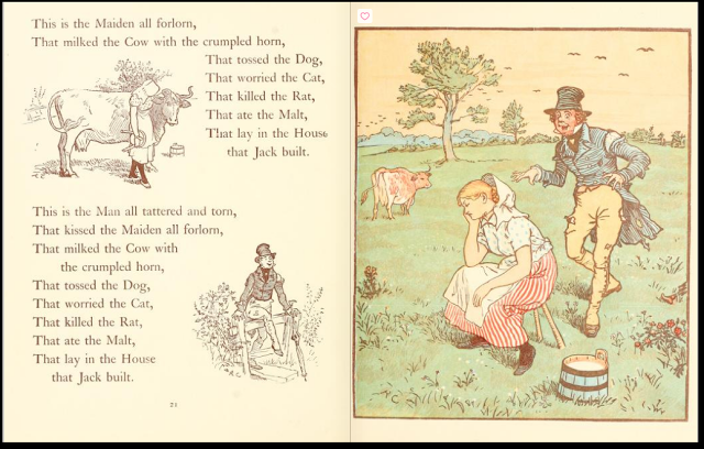 The House That Jack Built - Randolph Caldecott