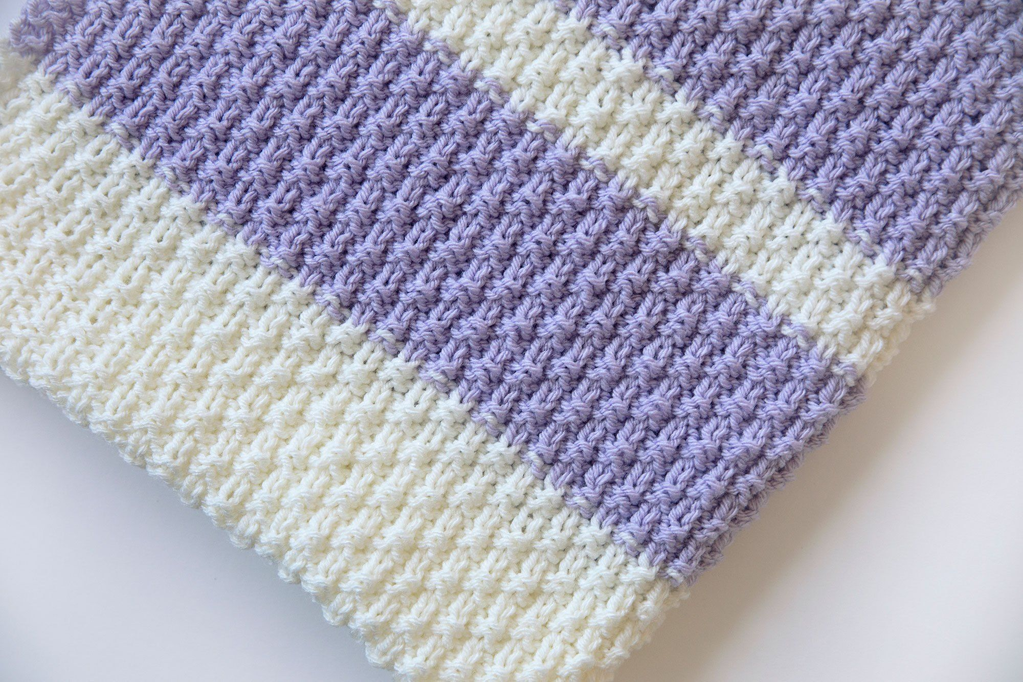 Easy Knit Baby Blanket Pattern | Knitted baby blankets ...
