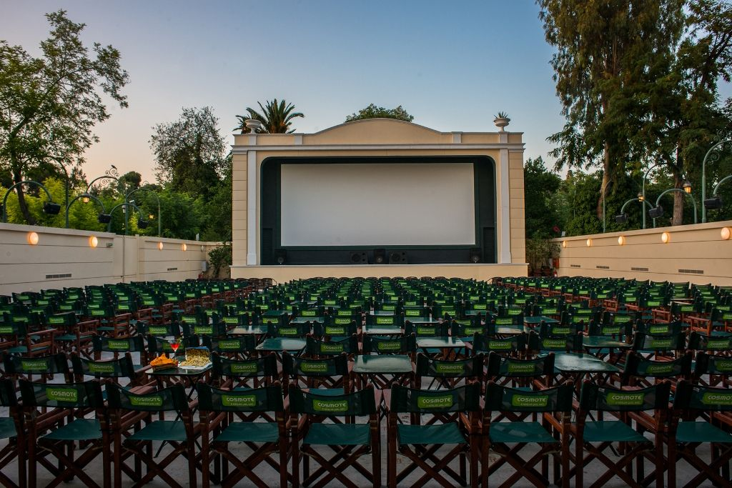 Romantic movie nights in open air cinemas around Athens