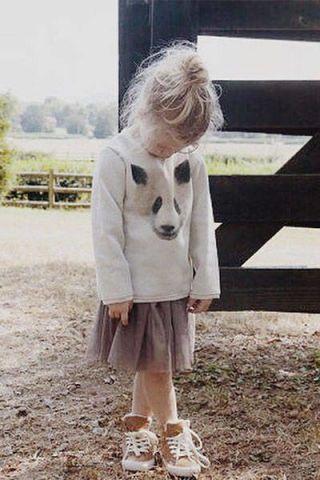 Blogger James Kicinski McCoy dresses her daughter in comfy-chic looks//