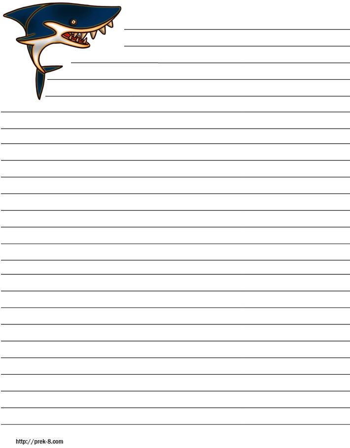 Lined Writing Paper for Kids Pinterest – Lined Paper Template Kids