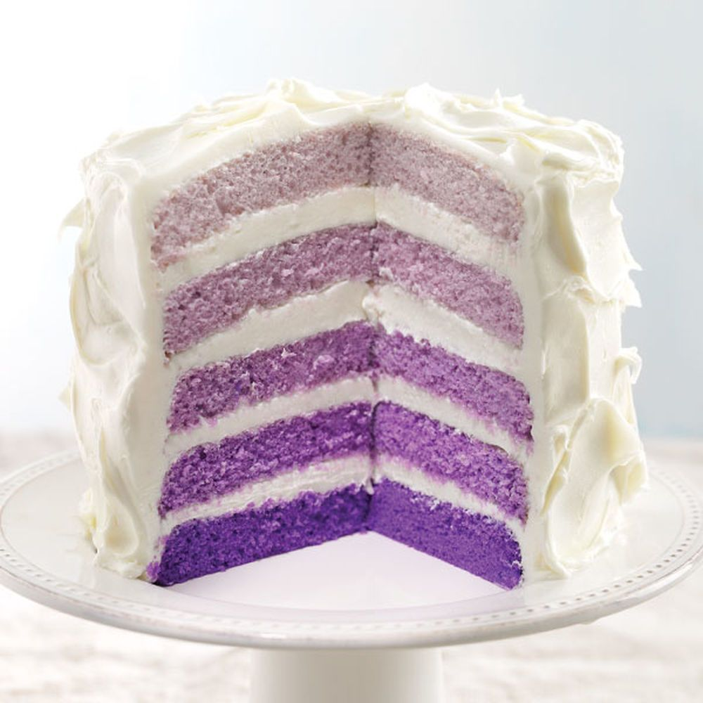 9 Simple Wedding Cakes With Just One Layer: Easy Layer Cake, Cake