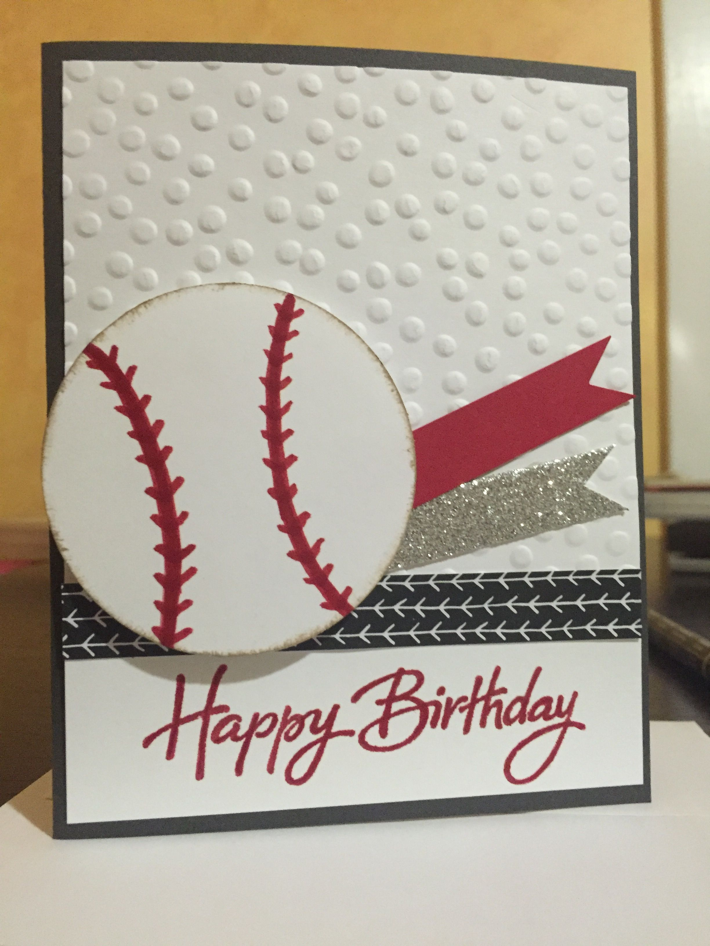 Boys Birthday Card Stampin Up