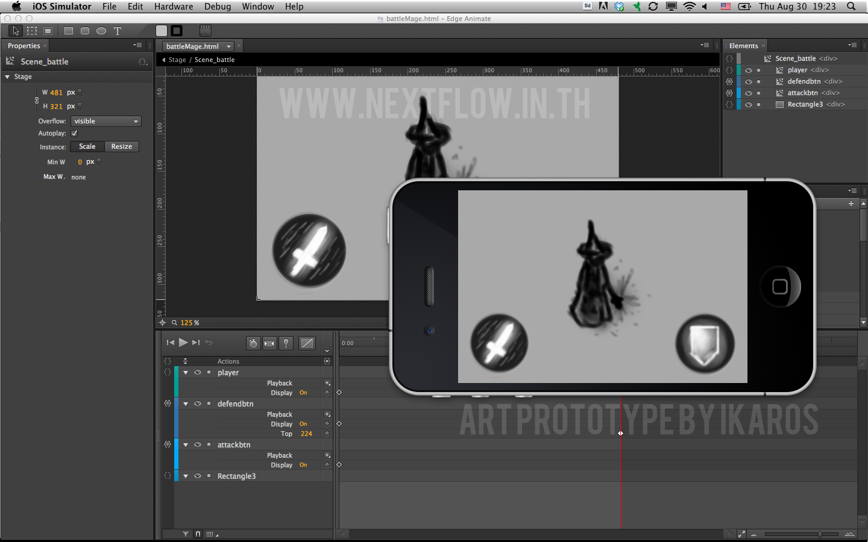 Adobe Edge Animate + PhoneGap = iOS Game built with HTML5