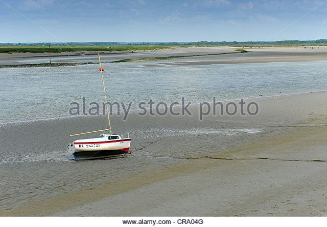 somme river estuary | Baie de Somme River Somme St Valery Sur Somme Picardy France - Stock ...