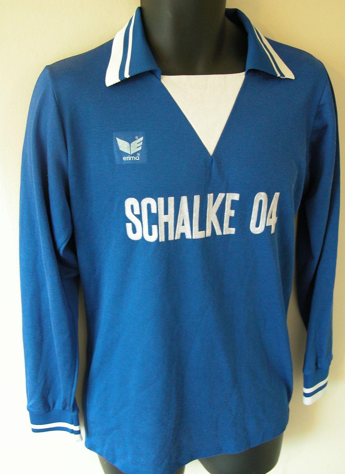 09f55d0f552 Classic 70s Schalke home shirt by Erima | No 6 - Football Kit ...