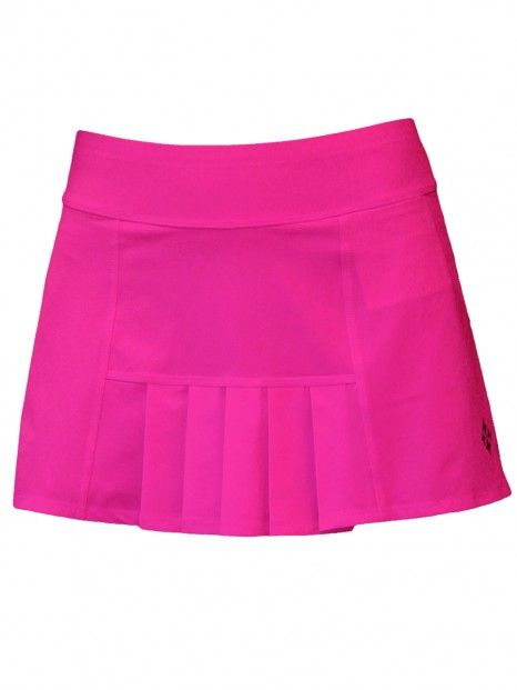 9ca957c3063 Mojito (Fluorescent Pink) JoFit Ladies   Plus Size Dash Pleated Tennis Skort  available at  lorisgolfshoppe