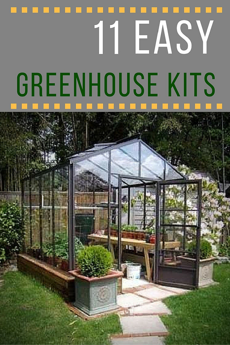 Build Wood Lean To Laminated Glass Greenhouse Modern House