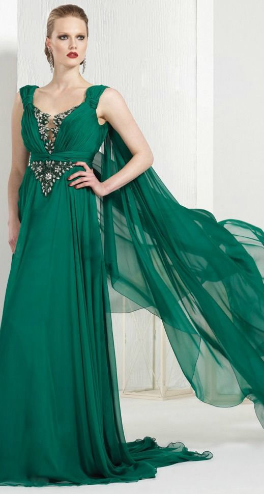 Tarik Ediz evening dress