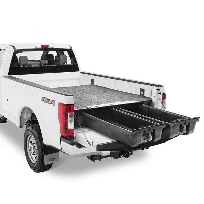 1999 2016 F250 F350 Decked Truck Bed Organizer 8ft Bed Decked Ds5 Decked Truck Bed Truck Bed Organization Truck Bed