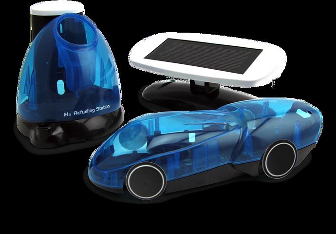 iPhone ja Android puhelimella ohjattava Vety-auto  i-H2GO