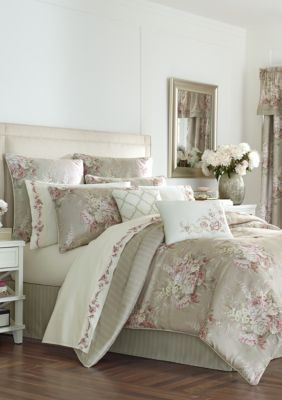 Royal Court  Eleanor Natural Comforter Set - Natural - Queen