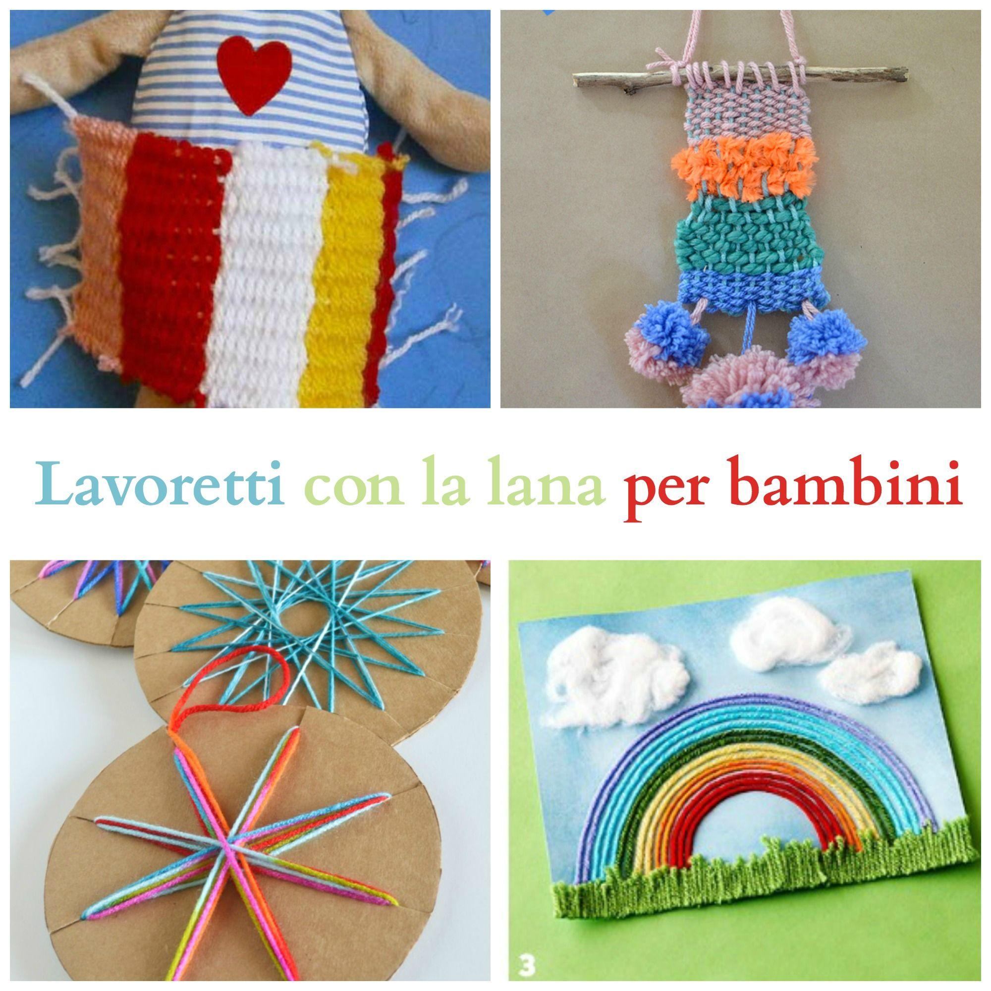 Lavoretti Con La Lana Per Bambini Lavoretti Bimbi Lana