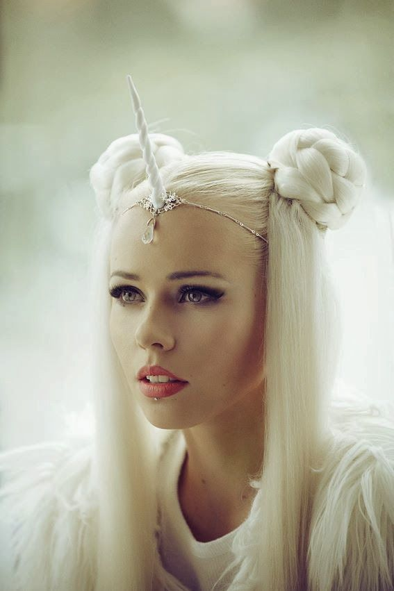 Stunning Feminine Halloween Makeup Ideas | Unicorn halloween ...