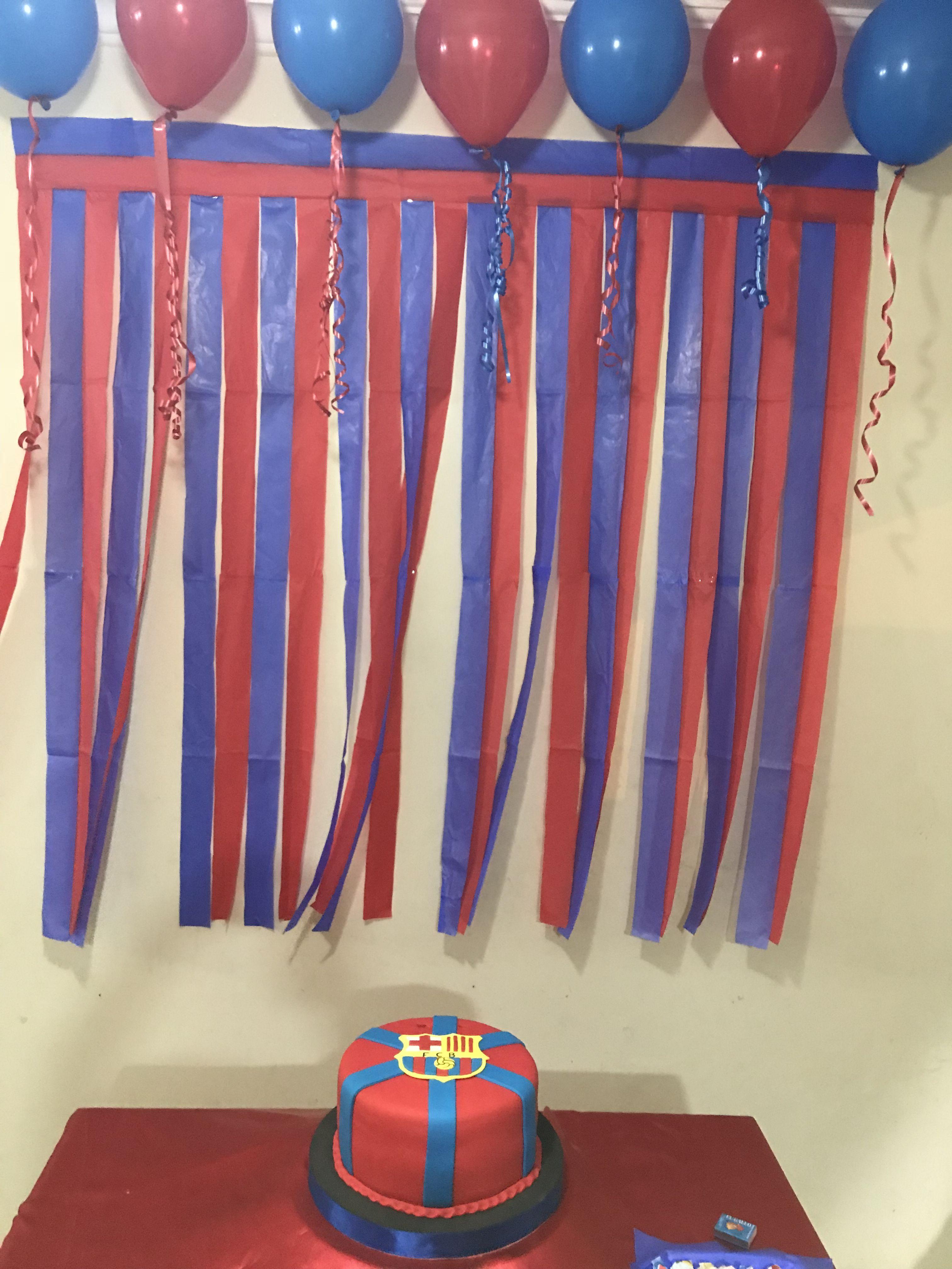 Pin By Diana Beltran On Fiestas Y Algo Mas Soccer Birthday Parties Soccer Birthday Superhero Birthday Party