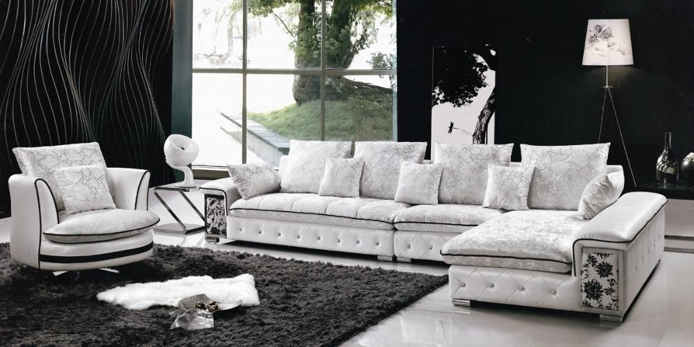 Sofa Sets Design gray l-shape sofa design in living room | attire #office