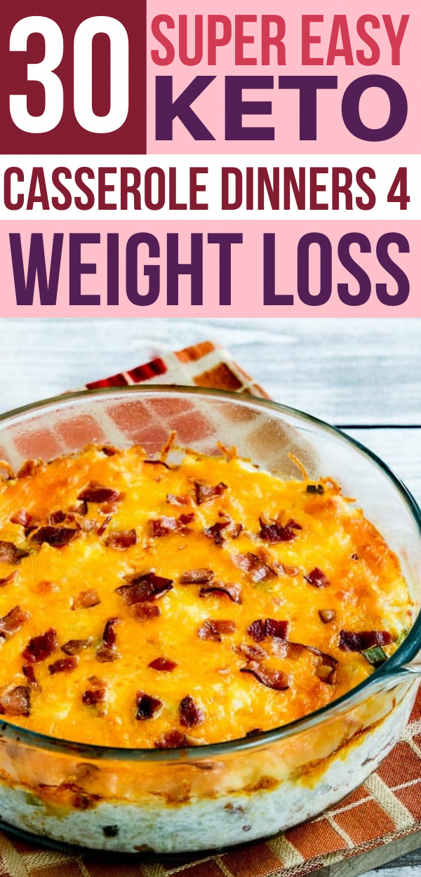 These keto casserole recipes make the BEST low carb dinners!!! Prep your ketogenic casseroles ahead of time & pop in the oven for an easy LCHF weeknight dinner! #ketorecipes #keto #ketogenicdiet #casseroles #casserolerecipes #lowcarb #lchf #KetogenicSaladRecipes