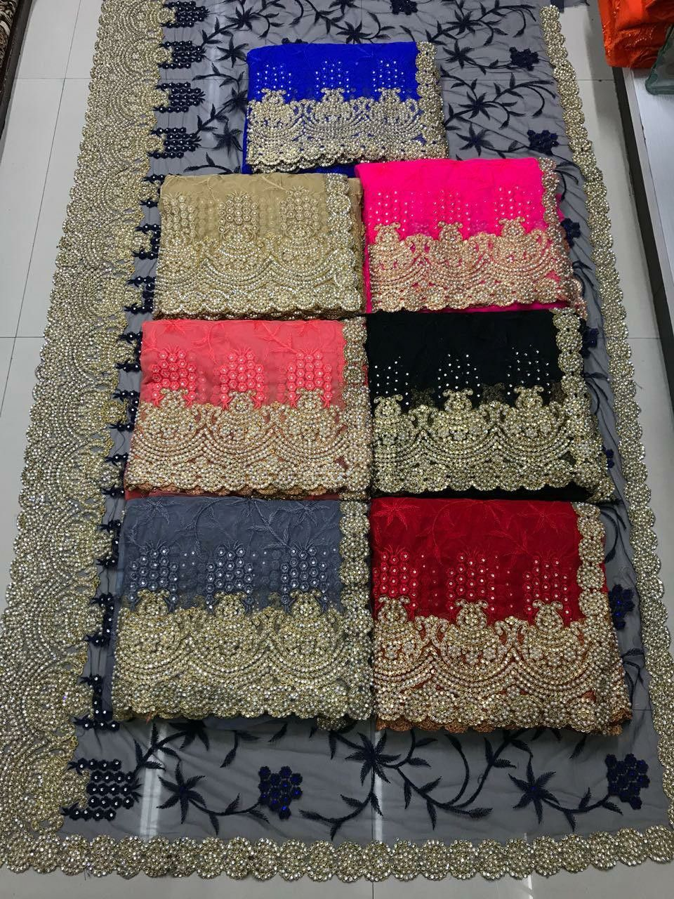 b7430b9e79 M...M Single Available FABRIC DETAILS *Full saree of heavy quality ...