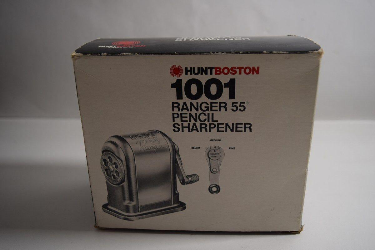 Boston Ranger 55 Heavy Duty Manual Pencil Sharpener, 1001