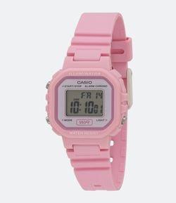 5aaa535fd09 Relógio Feminino Casio LA 20WH 4A1DF Digital