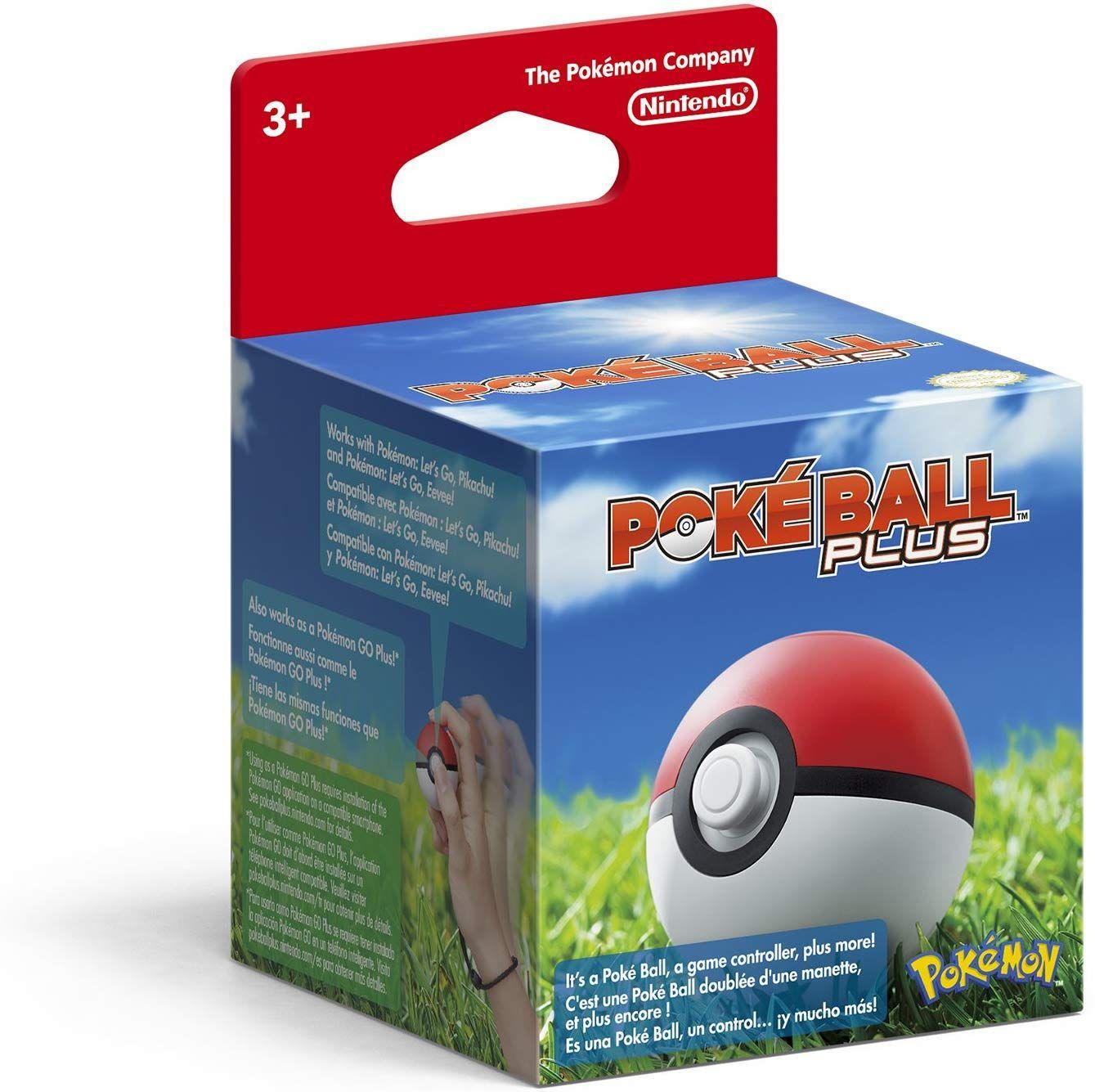 Amazon Com Poke Ball Plus Video Games Nintendo Switch