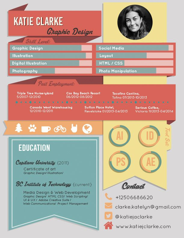 infographic resume - Google Search Disney project Pinterest - resume for google