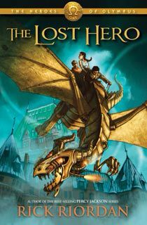 The Lost Hero is part of the 5 book series The Heroes of Olympus by Rick Riordan. This series is based in pure Greek Mythology but is put into a jam packed adventure for the reader. Also who doesn't want to see more action of Percy Jackson!!