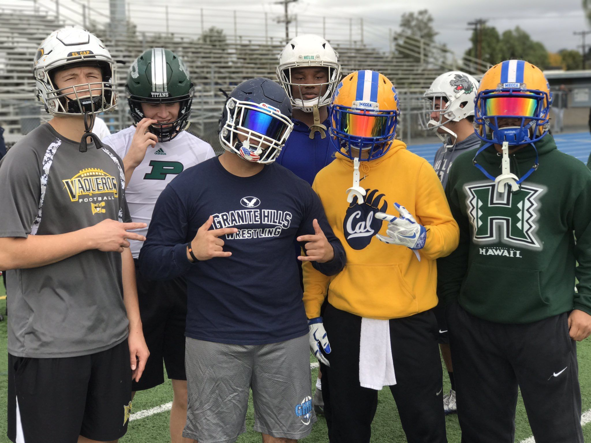 Looking For Football Visors For Your High School Athlete Well Be Sure And Check Out Our Website To Get Your Football Football Helmets College Football Uniforms