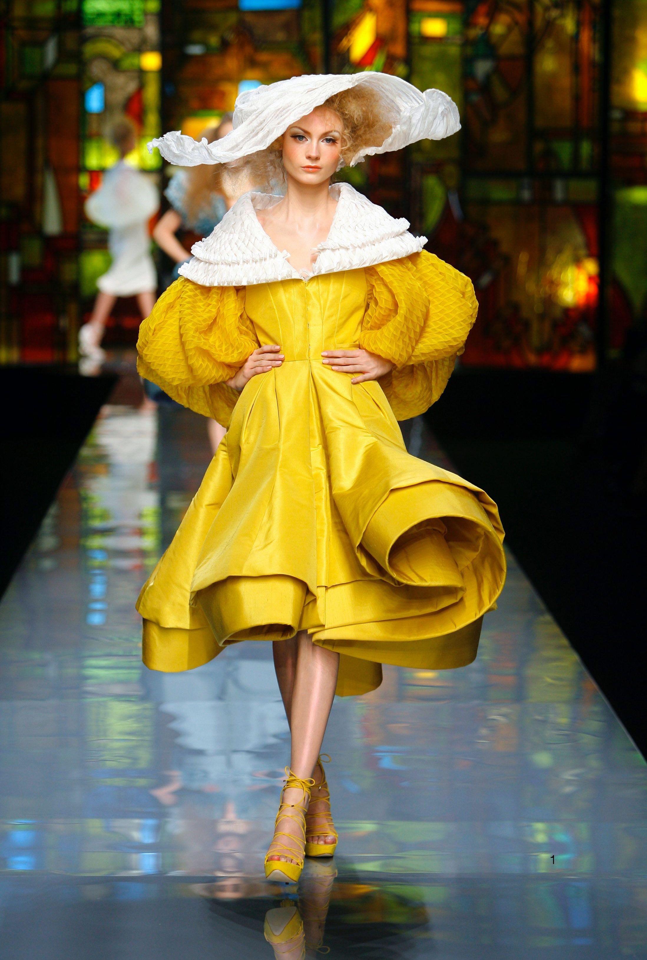 Maison dior collection haute couture printemps t 2009 for Maison de haute couture