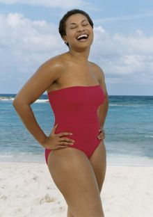 How to find the right swimsuit--check out this article.