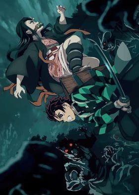 Metal Poster Kimetsu No Yaiba