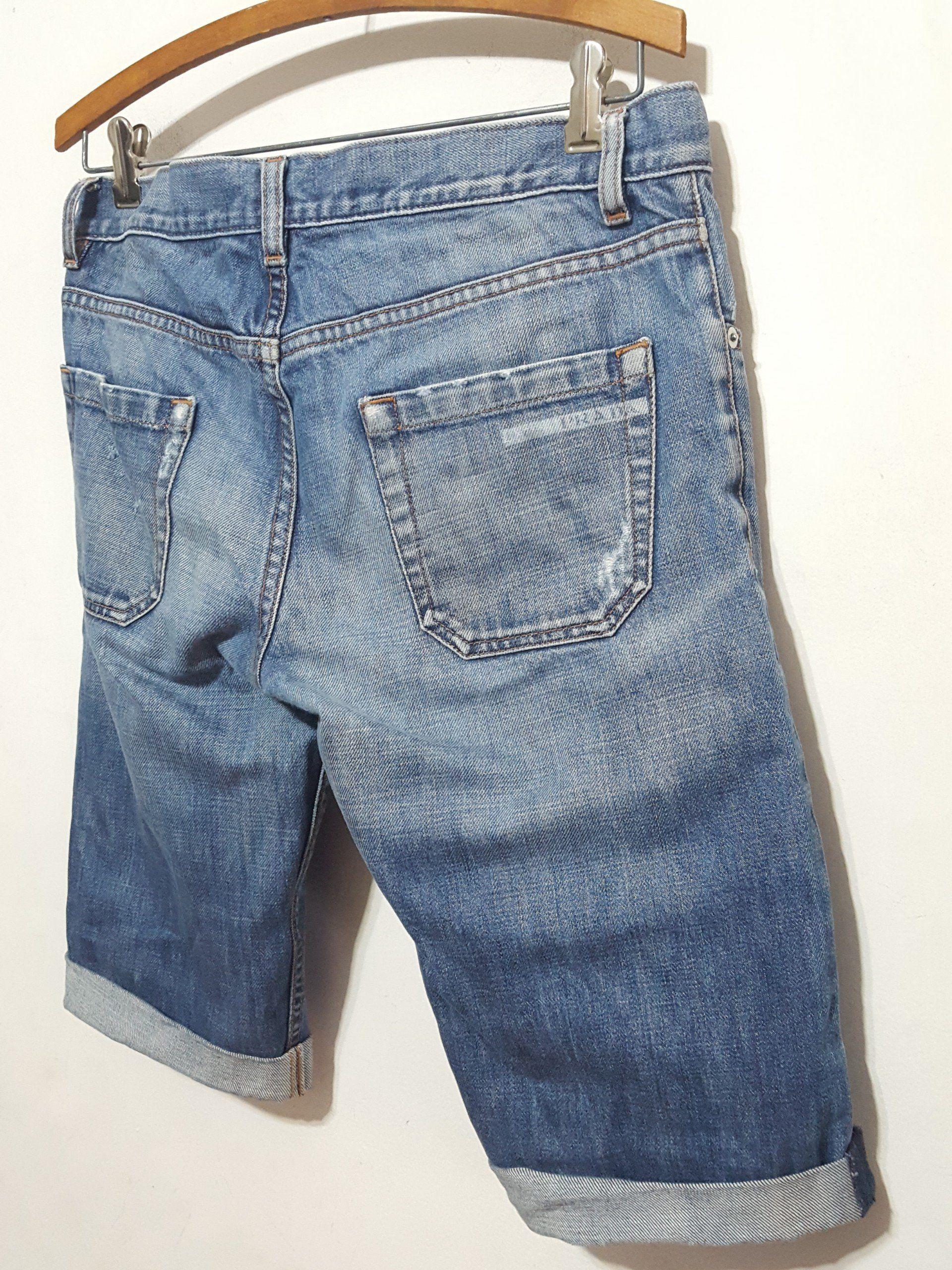 4a912bf152c Mens, Prada Denim Cutoff Bermuda Shorts sz.30 | Products | Denim ...