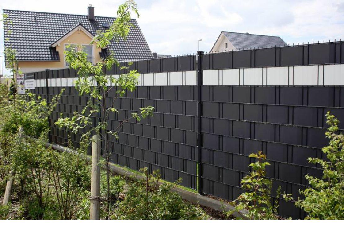 blickdichter sichtschutzzaun sichtschutzz une pinterest zaun gartenzaun und garten. Black Bedroom Furniture Sets. Home Design Ideas