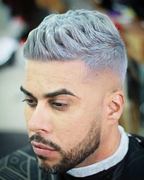 30 Amazing Platinum Blonde Hairstyles For Men Best Men S Blonde Haircuts Men S Style Low Bald Fade Wit Men Blonde Hair Platinum Blonde Hair Blonde Haircuts